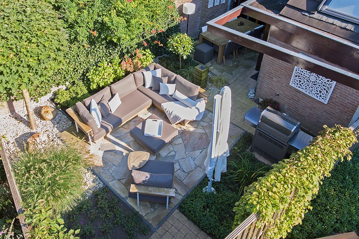 Compacte tuin hasselaar architecten
